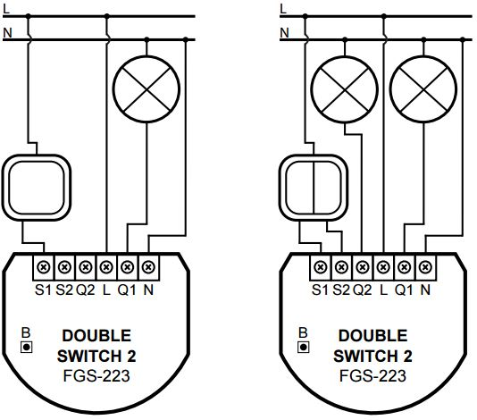 double-switch-2-wiring_orig  Way Switch Wiring Diagram For Light Single on 3-way switch diagram multiple lights, 3-way switch wiring examples, 3-way switch 2 lights, 3-way switch common terminal, three pole switch diagram, 2 switches 1 light diagram, 3-way light switches for one, 3-way switch to single pole light, easy 4-way switch diagram, two lights one switch diagram, easy 3 way switch diagram, 3-way switch wiring diagram variations, 3-way electrical wiring diagrams, 3 wire switch diagram, 3-way dimmer switch wiring, 3-way light circuit, california three-way switch diagram, 3-way switch circuit variations,